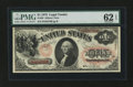 Large Size:Legal Tender Notes, Fr. 20 $1 1875 Legal Tender PMG Uncirculated 62 EPQ....
