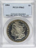 Proof Morgan Dollars, 1884 $1 PR62 PCGS....