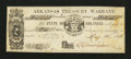Obsoletes By State:Arkansas, Little Rock, AR- State of Arkansas $1.21 May 12, 1863 Cr. UNL Rothert UNL. ...