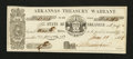 Obsoletes By State:Arkansas, Little Rock, AR- State of Arkansas $1.58 June 11, 1863 Cr. 26A Rothert 387-1. ...