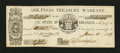 Obsoletes By State:Arkansas, Little Rock, AR- State of Arkansas $1.58 June 11, 1863 Cr. 26AIB Rothert 387-1. ...