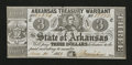 Obsoletes By State:Arkansas, Little Rock, AR- State of Arkansas $3 June 11, 1863 Cr. 44 Rothert 391-5. ...