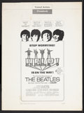 "Movie Posters:Rock and Roll, Help! (United Artists, 1965). Pressbook (Multiple Pages, 13.25"" X18""). Rock and Roll.. ..."