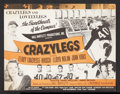 "Movie Posters:Sports, Crazylegs Lot (Republic, 1953). Heralds (2) (8.5"" X 11"" Folded). Sports.. ... (Total: 2 Items)"