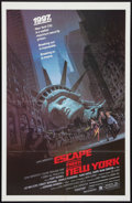 """Movie Posters:Action, Escape from New York (Avco Embassy, 1981). One Sheet (27"""" X 41""""). Action.. ..."""