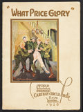 "Movie Posters:War, What Price Glory (Fox, 1926). Program (Multiple Pages, 8"" X 11"").War.. ..."