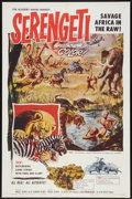"Movie Posters:Documentary, Serengeti (Allied Artists, 1960). One Sheet (27"" X 41""). Documentary.. ..."