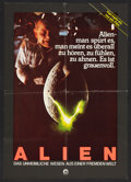 "Movie Posters:Science Fiction, Alien (20th Century Fox, 1979). German A2 (16"" X 23""). Science Fiction.. ..."