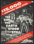 "Movie Posters:Science Fiction, The Day the Earth Stood Still (20th Century Fox, 1951). Pressbook(Multiple Pages, 14"" X 18""). Science Fiction.. ..."