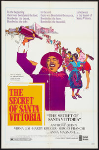 """The Secret of Santa Vittoria Lot (United Artists, 1969). One Sheets (2) (27"""" X 41""""). Comedy. ... (Total: 2 Ite..."""