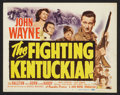 "Movie Posters:Western, The Fighting Kentuckian (Republic, 1949). Title Lobby Card and Lobby Cards (6) (11"" X 14""). Western.. ... (Total: 7 Items)"