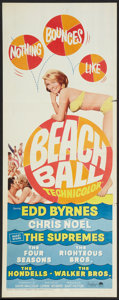 "Movie Posters:Rock and Roll, Beach Ball Lot (Paramount, 1965). Inserts (2) (14"" X 36""). Rock andRoll.. ... (Total: 2 Items)"