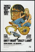 "Movie Posters:Drama, Dirty Mary Crazy Larry (20th Century Fox, 1974). One Sheet (27"" X 41""). Drama.. ..."