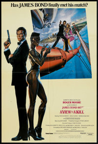 "A View to a Kill (MGM/UA, 1985). Arabic One Sheet (26.5"" X 39""). James Bond"