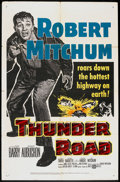 """Movie Posters:Crime, Thunder Road (United Artists, 1958). One Sheet (27"""" X 41""""). Crime....."""