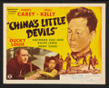 "Movie Posters:War, China's Little Devils (Monogram, 1945). Title Lobby Card and Lobby Card (11"" X 14""). War.. ... (Total: 2 Items)"