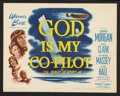 """Movie Posters:War, God Is My Co-Pilot (Warner Brothers, 1945). Title Lobby Card andLobby Card (11"""" X 14""""). War.. ... (Total: 2 Items)"""