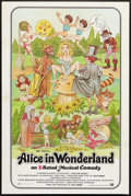 "Movie Posters:Sexploitation, Alice in Wonderland (General National, 1976). One Sheet (27"" X41""). Sexploitation.. ..."