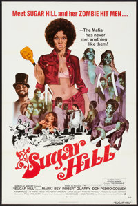 "Sugar Hill (American International, 1974). One Sheet (27"" X 41"") Flat Folded. Blaxploitation"