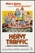"""Movie Posters:Animated, Heavy Traffic (American International, 1973). One Sheet (27"""" X 41""""). Animated.. ..."""