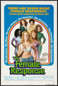 "Movie Posters:Sexploitation, The Female Response (Trans American, 1972). One Sheet (27"" X 41"")Flat Folded. Sexploitation.. ..."