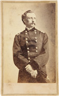 Military & Patriotic:Civil War, Great Brady/ Anthony Carte de Visite Portrait of Brig. Gen. George Armstrong Custer....