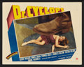 """Movie Posters:Horror, Doctor Cyclops (Paramount, 1940). Lobby Cards (2) (11"""" X 14""""). Horror.. ... (Total: 2 Items)"""