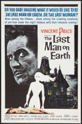 "Movie Posters:Science Fiction, The Last Man on Earth (American International, 1964). One Sheet(27"" X 41""). Science Fiction.. ..."
