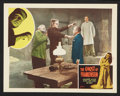 "Movie Posters:Horror, The Ghost of Frankenstein (Realart, R-1948). Lobby Cards (2) (11"" X14""). Horror.. ... (Total: 2 Items)"