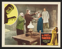 "The Ghost of Frankenstein (Realart, R-1948). Lobby Cards (2) (11"" X 14""). Horror. ... (Total: 2 Items)"