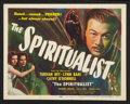 """Movie Posters:Fantasy, The Spiritualist (Eagle Lion, 1948). Title Lobby Card and LobbyCard (11"""" X 14""""). Fantasy.. ... (Total: 2 Items)"""