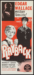 "Movie Posters:Mystery, Playback (BEF, 1962). Australian Daybill (13.25"" X 30""). Mystery....."