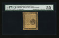Colonial Notes:Pennsylvania, Pennsylvania April 25, 1776 4d PMG About Uncirculated 55....