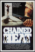 "Movie Posters:Sexploitation, Chained Heat (Intercontinental Releasing, 1983). One Sheet (27"" X41""). Sexploitation.. ..."