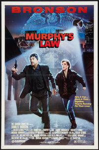 """Murphy's Law Lot (Cannon, 1986). One Sheets (2) (27"""" X 41""""). Thriller. ... (Total: 2 Items)"""