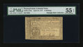 Colonial Notes:Pennsylvania, Pennsylvania April 10, 1777 6s PMG About Uncirculated 55 EPQ....