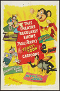 "Movie Posters:Animated, Terry-Toons Stock (20th Century Fox, 1950). One Sheet (27"" X 41"").Animated.. ..."