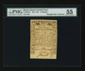 Colonial Notes:Rhode Island, Rhode Island May 1786 5s PMG About Uncirculated 55....