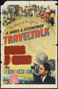 "Movie Posters:Documentary, FitzPatrick Traveltalks Stock Poster (MGM, 1942). One Sheet (27"" X 41"") ""Looking at London"". Documentary.. ..."