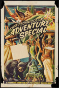 "Movie Posters:Short Subject, Warner Brothers Adventure Stock (Warner Brothers, 1940s). One Sheet(27"" X 41""). Short Subject.. ..."