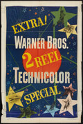"Movie Posters:Short Subject, 2 Reel Technicolor Stock (Warner Brothers, 1949). One Sheet (27"" X41""). Short Subject.. ..."