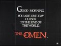 "Movie Posters:Horror, The Omen (20th Century Fox, 1976). British Quad (30"" X 40"") Advance. Horror.. ..."