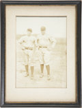 Baseball Collectibles:Photos, Circa 1920 Babe Ruth & Roger Peckinpaugh Photograph....