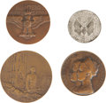 Military & Patriotic:WWI, Lot of Four WWI Commemorative Medals.... (Total: 4 Items)