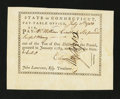 Colonial Notes:Connecticut, Connecticut Pay Table Office. July 11, 1784. About New....