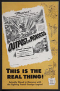 """Movie Posters:Adventure, Outpost in Morocco (United Artists, 1949). Pressbook (MultiplePages, 11"""" X 17""""). Adventure.. ..."""