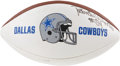 Football Collectibles:Balls, Randy White Signed Football....