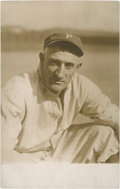 Baseball Collectibles:Others, Circa 1910 Honus Wagner Real Photo Postcard....