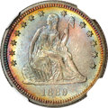 Seated Quarters, 1889 25C MS68 NGC....