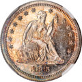 Patterns, 1865 25C Quarter Dollar, Judd-425, Pollock-497, High R.6, PR65NGC....